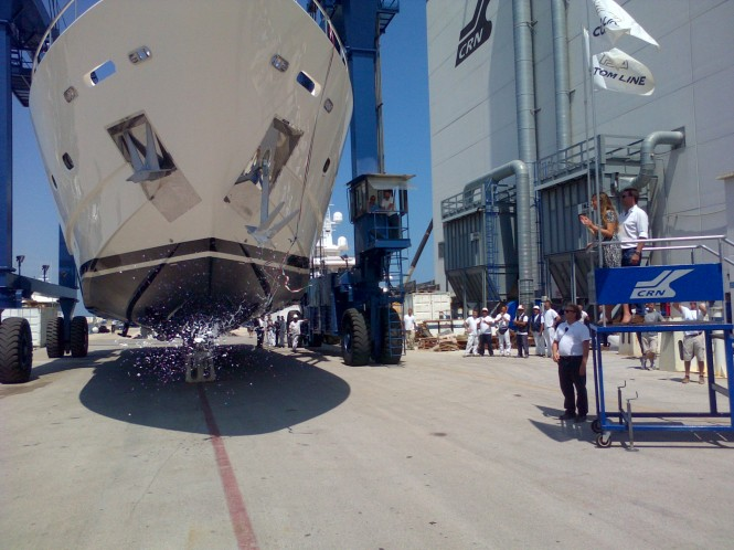Happy Days superyacht launched