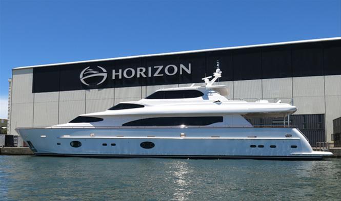 Horizon RP105 superyacht AGORA