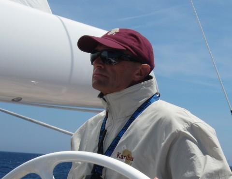 Jesper Bank on Karibu Yacht