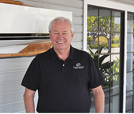 Jim McLaren, the new Sales and Service Partner of Horizon Yachts