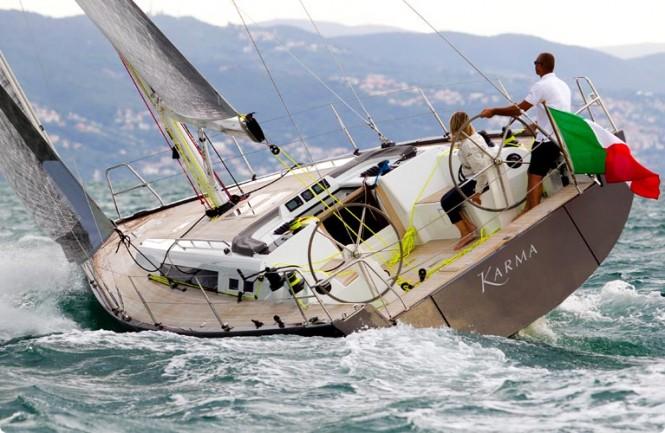Karma Yacht - aft view