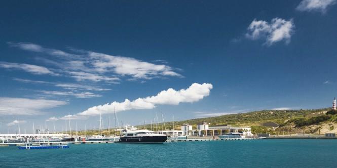 Karpaz Gate Marina in Northern Cyprus. Photo: Dudu Tresca
