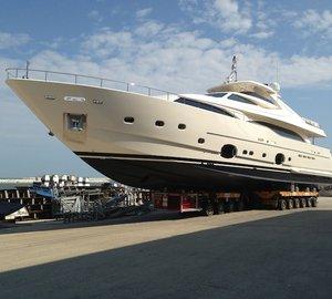Motor yacht HAPPY DAYS by CRN