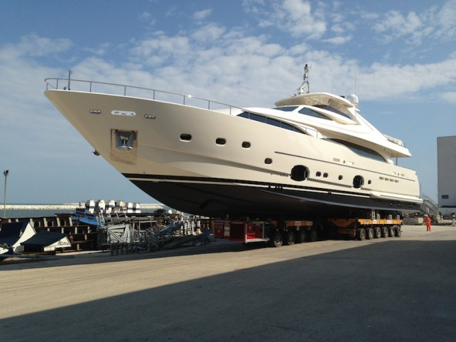 Launch of Happy Days yacht