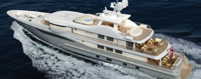 Luxury superyacht SPIRIT