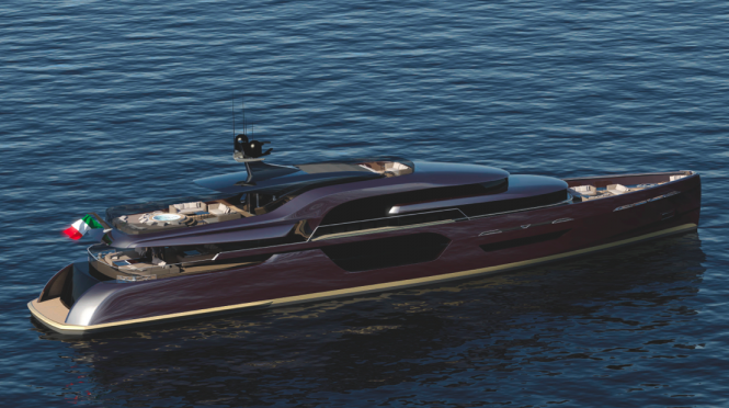 Luxury yacht ENVY