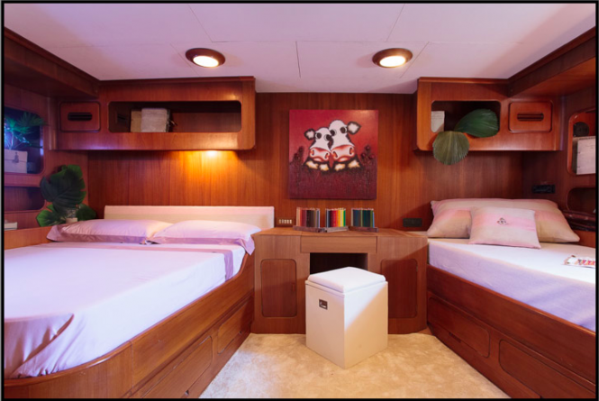 MY LOTTY yacht - Owner cabin