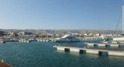 Marina del Gargano positioned in the popular summer yacht charter destination - Italy