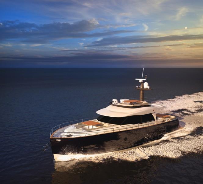 Motor yacht Magellano 53