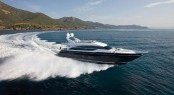 Motor yacht Princess 82 presented at London Boat Show 2013