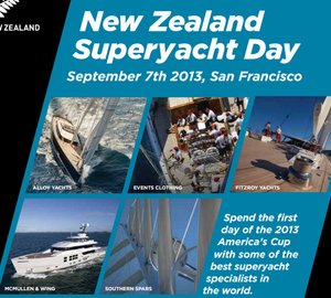New Zealand superyacht capabilities to shine at NZ Superyacht Day in San Francisco