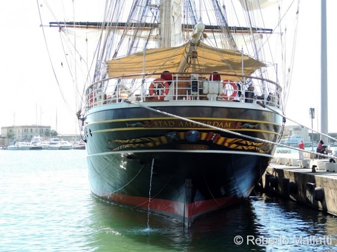 STAD AMSTERDAM clipper charter yacht  - Photo by Roberto Malfatti
