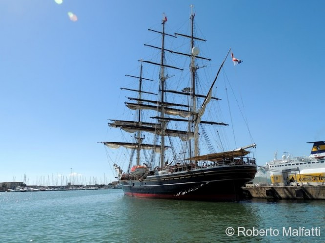 STAD AMSTERDAM yacht  - Photo by Roberto Malfatti