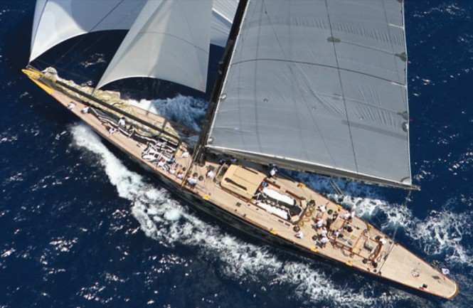 Sailing yacht Lionheart designed by Hoek - Photo by Ingrid Abery