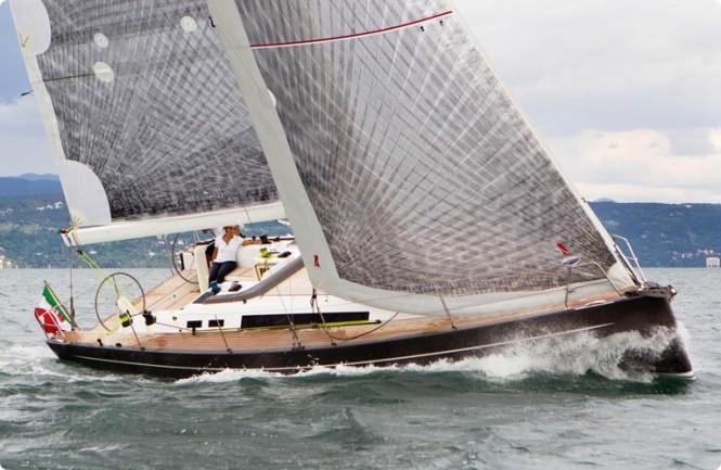 Solaris 72 Classic luxury yacht Karma in the popular yacht charter destination - the Adriatic