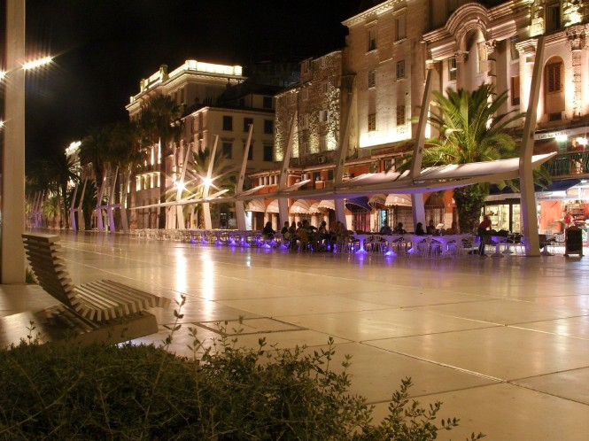 Split in Croatia - Another beautiful city to visit while on Croatia yacht charter holiday