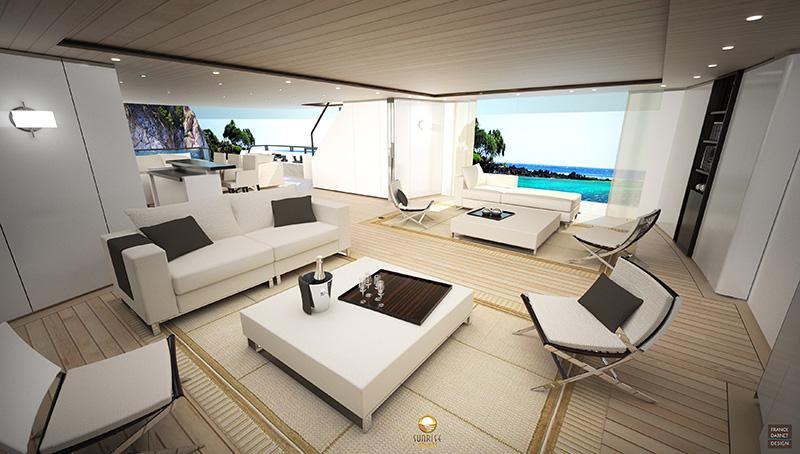 Sunrise 50 Yacht Concept Interior Yacht Charter