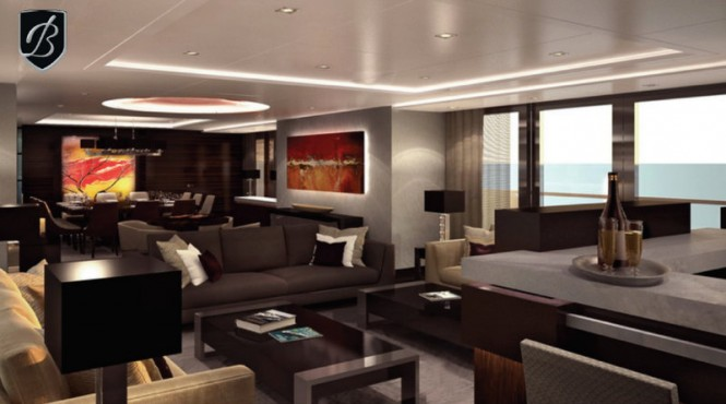 Superyacht Alfulk - Interior