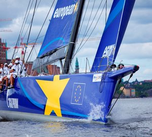 Esimit Europa 2 Yacht attending Swedish AF Offshore Race