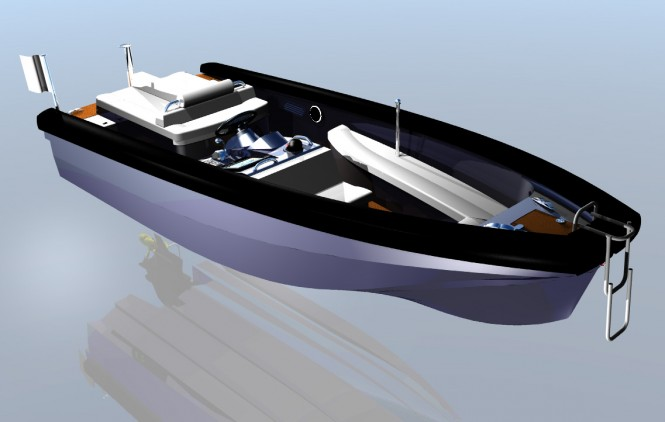TS56 superyacht tender by Tender Shipyard