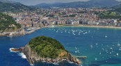The popular summer yacht charter location - Spain