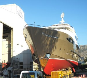New Vulcan 35m Trideck motor yacht JULEM I launched by Vicem Yachts