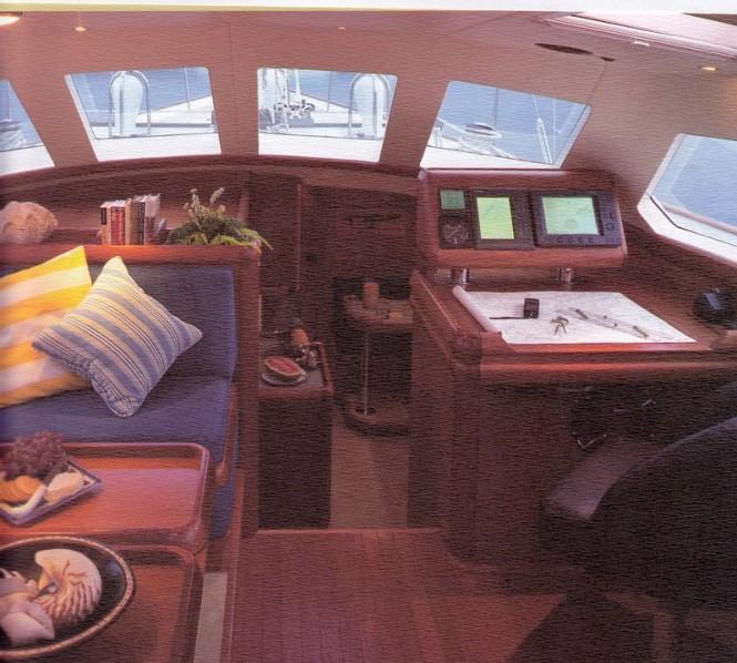 Golden Opus Yacht - Interior