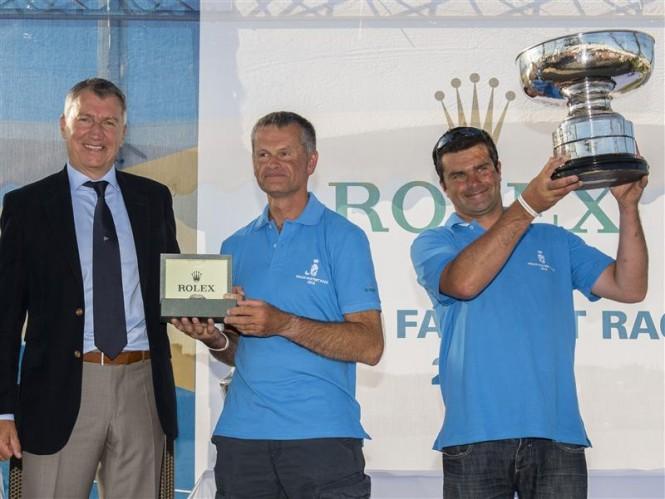 2013 Rolex Fastnet Overall Winners