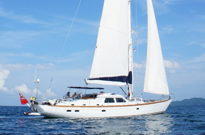 22m luxury yacht Golden Opus by Ron Holland