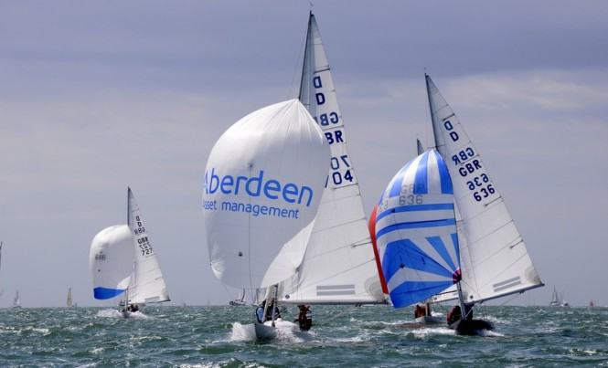 Aberdeen Asset Management Cowes Week 2013