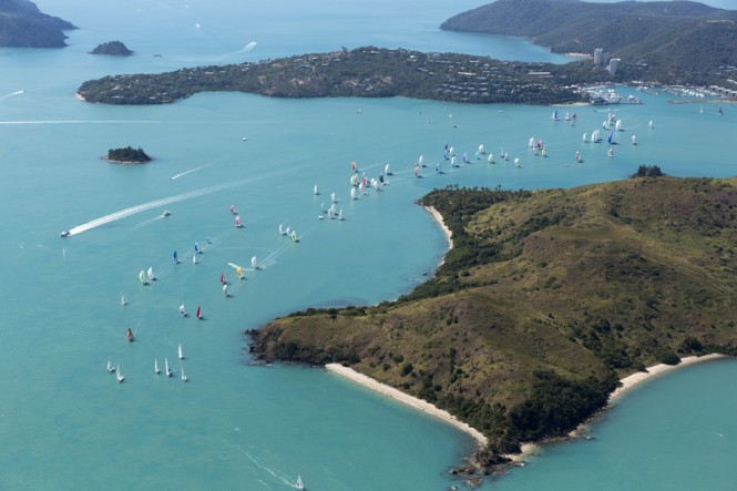 Aerial view of the AHIRW2013 - Photo credit to Andrea Francolini_Audi