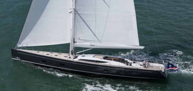 Baltic 107 Yacht INUKSHUK designed by German Frers