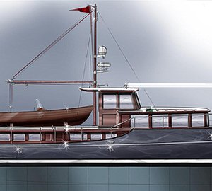 New 65' Commuter motor yacht design by Barracuda Yacht Design