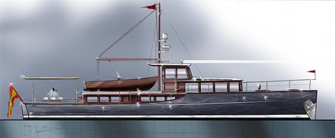 Barracuda's 65' Commuter yacht design