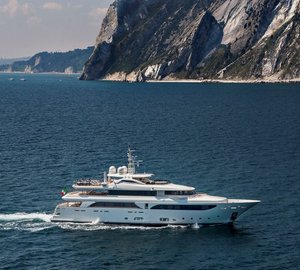 New CRN Navetta 43 motor yacht LADY GENYR delivered