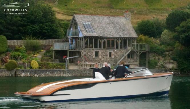 Cockwells 9.5m TT motor yacht Grace E
