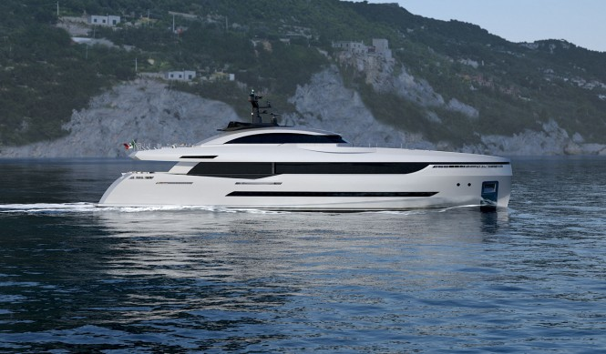 Columbus 40m Sport Hybrid Yacht