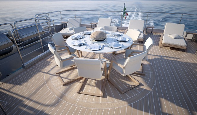 Columbus 40m Sport Hybrid Yacht - Exterior