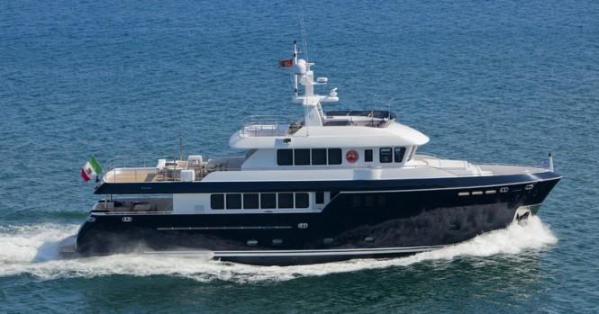 Darwin Class 96 superyacht Stella di Mare by Cantiere delle Marche