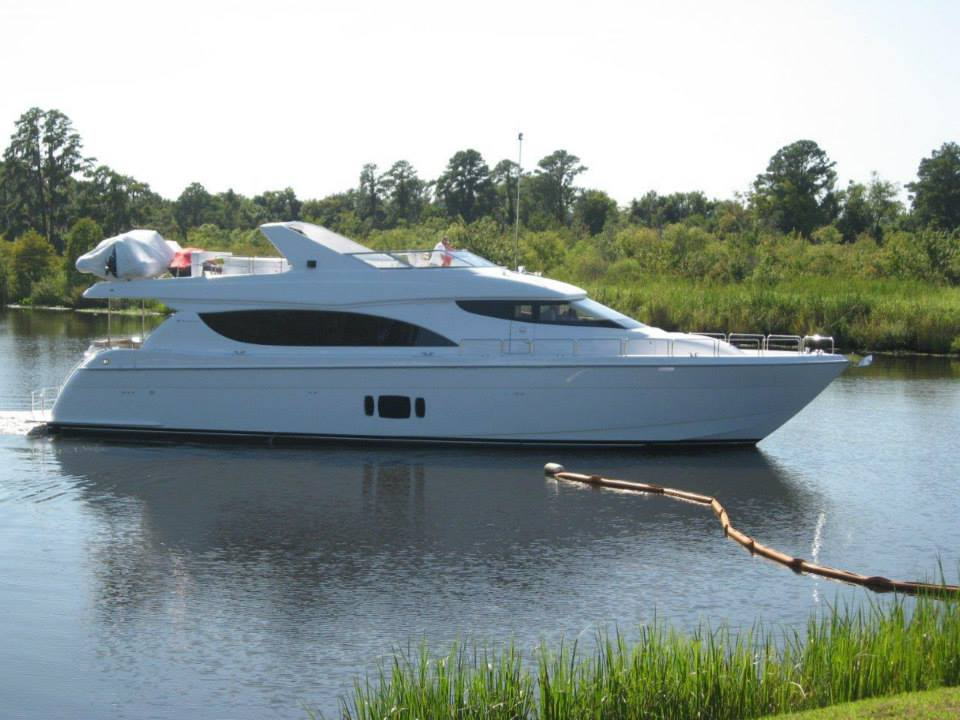 Hatteras 80 motor yacht on the water yacht charter for 80 hatteras motor yacht