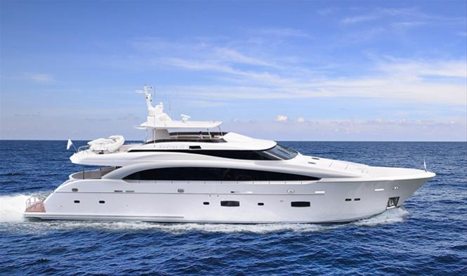 Horizon RP110 motor yacht Andrea VI