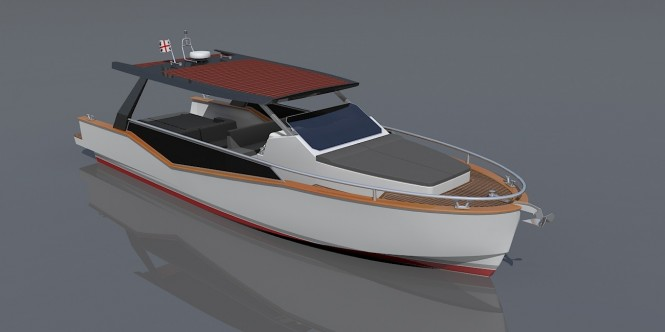 LUXI33 superyacht tender by Cantiere Savona