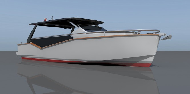 LUXI33 yacht tender