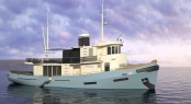 Le Lutteur Yacht converted into a superyacht by Cobra Yacht