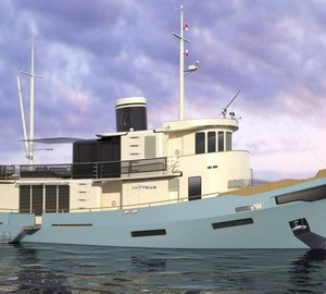 French navy tugboat LE LUTTEUR converted into a superyacht by Cobra Yacht