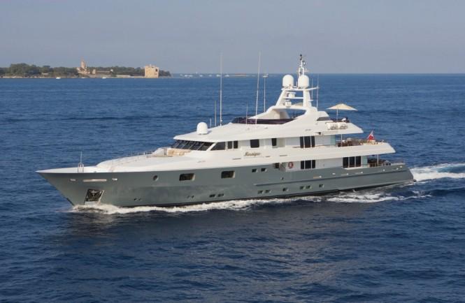 Luxury motor yacht MOSAIQUE
