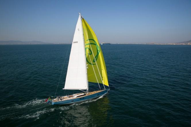 Luxury sailing yacht Feelin' Good