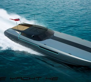 New SPIRE YACHT 46 superyacht chase boat by Spire Boat and Henry Ward