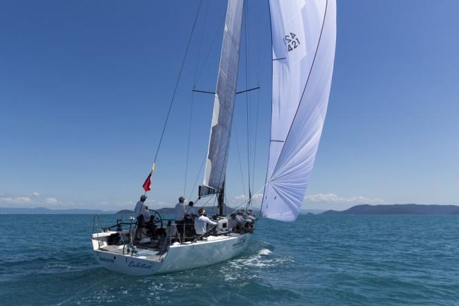 Sailing yacht Celestial - Photo credit to Andrea Francolini_Audi