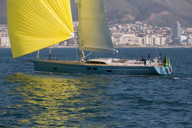 Southern Wind built Feelin' Good yacht
